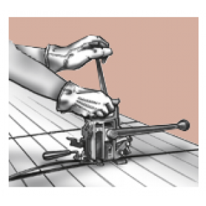 Manual Seal-Feed Steel Strapping Combination Tool